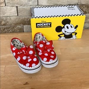 Disney Vans Toddler 9.5